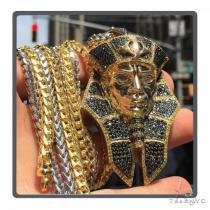 Pharaoh Diamond Pendant 49182 Metal