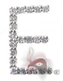 Frozen E Pendant 2 Diamond Pendants