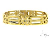Men\'s Stainless Steel Bracelet 49457 ステンレススティール ブレスレット