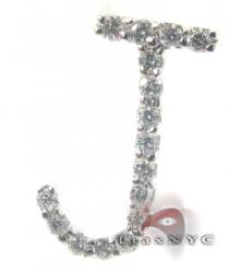 Frozen J Pendant 2 Diamond Pendants