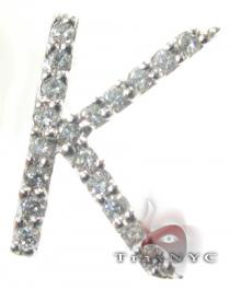 Frozen K Pendant 2 Diamond Pendants