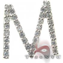 Frozen M Pendant 2 Diamond Pendants