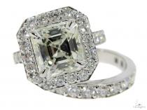 Eris Diamond Engagement Ring Set 49764 エンゲージメント