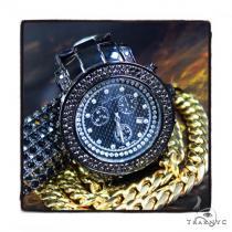 Prong Diamond Joe Rodeo Watch JJU-148 44316 Men Specials