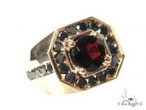 Mens Godfather Garnet Ring 44311 Men Specials