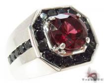 Mens Godfather Garnet Ring 1.70 ct メンズ ダイヤモンド リング