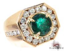 Mens Godfather Emerald Ring メンズ ダイヤモンド リング
