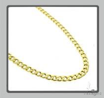 10K Hollow Traxnyc Miami Cuban Chain 28 Inches 6mm 21.2 Grams Gold