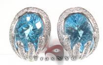 Warp Earrings Stone