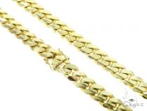 10K Miami Cuban Chain 30 Inches 12mm 263.4 Grams 45589 Gold