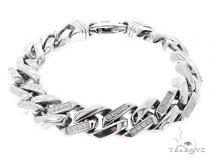 Stainless Steel Bracelet 57399 ステンレススティール ブレスレット