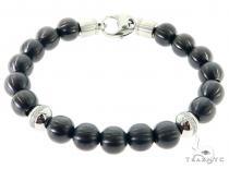 Black Beads Bracelet 57436
