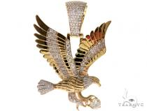 Eagle Diamond Pendant 57658 Metal