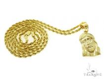 Jesus Pendant and Rope Chain Set 61514