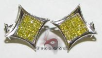 Canary SQ2 Earring Mens Diamond Earrings