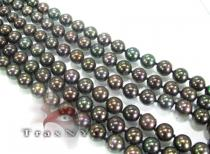 French Dyed Black Pearl Necklace パールネックレス