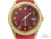 18K Yellow PVD & Stainless Steel Rolex DateJust Watch 63731 ロレックス ダイヤモンド コレクション