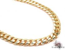 Miami Cuban Curb Link Chain 24 Inches 6.5mm 83.10 Grams 63887 ゴールド チェーン