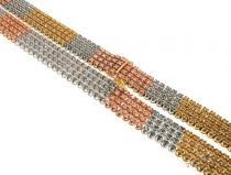 4 Rows Diamond Chain 63919 ダイヤモンド チェーン