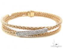 Prong Diamond Bracelet 33856 ダイヤモンド ブレスレット