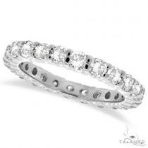 Platinum Diamond Eternity Band 64546 ウェディング