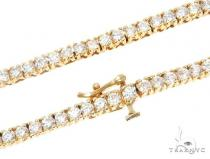 Aaron Hicks 14K Yellow Gold Diamond Chain 64777 ダイヤモンド チェーン