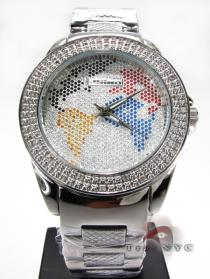 Jojino IJ-1043 MC World Map Watch JoJino