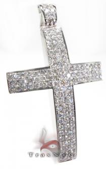 Thunder Cross Mens Diamond Cross
