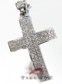 Timeless Cross Mens Diamond Cross