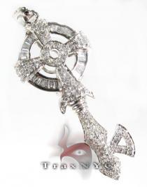 Gothic Key Pendant ダイヤモンドキーペンダント
