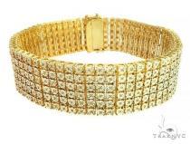 Silver Diamond Bracelet 66151 ステアリングシルバーブレスレット