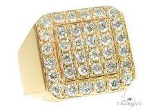 TraxNYC Heavy 10k Gold Ring メンズ ダイヤモンド リング