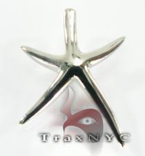 Starfish Sterling Silver Pendant 2 シルバーチャーム