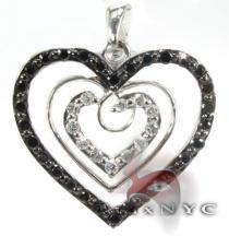 Illusion Heart Pendant Stone