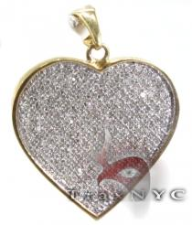 Iced Heart Pendant Diamond Pendants