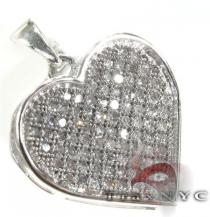 Frozen Arctic Heart Pendant Diamond Pendants