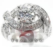 Elegant Band ダイヤモンド 婚約 結婚指輪
