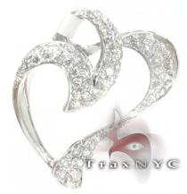 Murky Heart Pendant Diamond Pendants