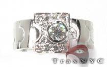 18K White Gold & Diamond Apostle Ring レディース ダイヤモンド リング