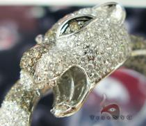Cougar Bangle Bracelet Diamond & Gold Bracelets