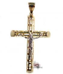 Gold Cross Pendant 3 メンズ ゴールド クロス