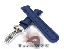 Joe Rodeo Blue Polyurethane Band 24mm Watch Accessories
