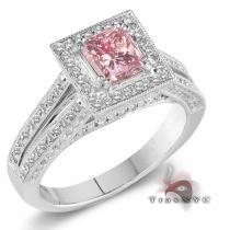 Ladies Pink Essence Ring カラー ダイヤモンド リング