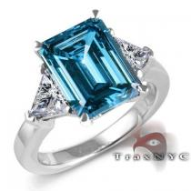 Ladies Ice Ring Colored Diamond Rings