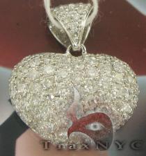 White Diamond Heart ダイヤモンドペンダント