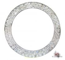 White 3 Row Junior Bezel Watch Accessories