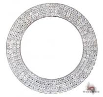 White 4 Row Junior Bezel Watch Accessories