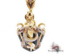 Serpent Shield Pendant Diamond Pendants