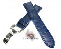 Aquamaster Navy Blue Leather Band 14mm Watch Accessories