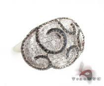 Black Diamond Net Ring Anniversary/Fashion